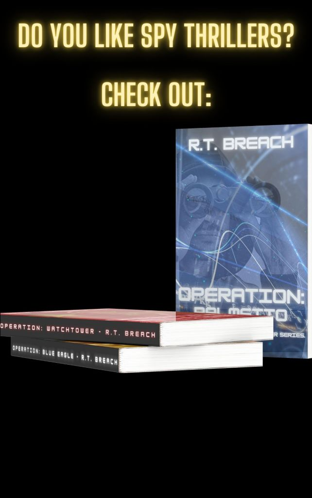 SPY THRILLER AUTHOR R.T. BREACH